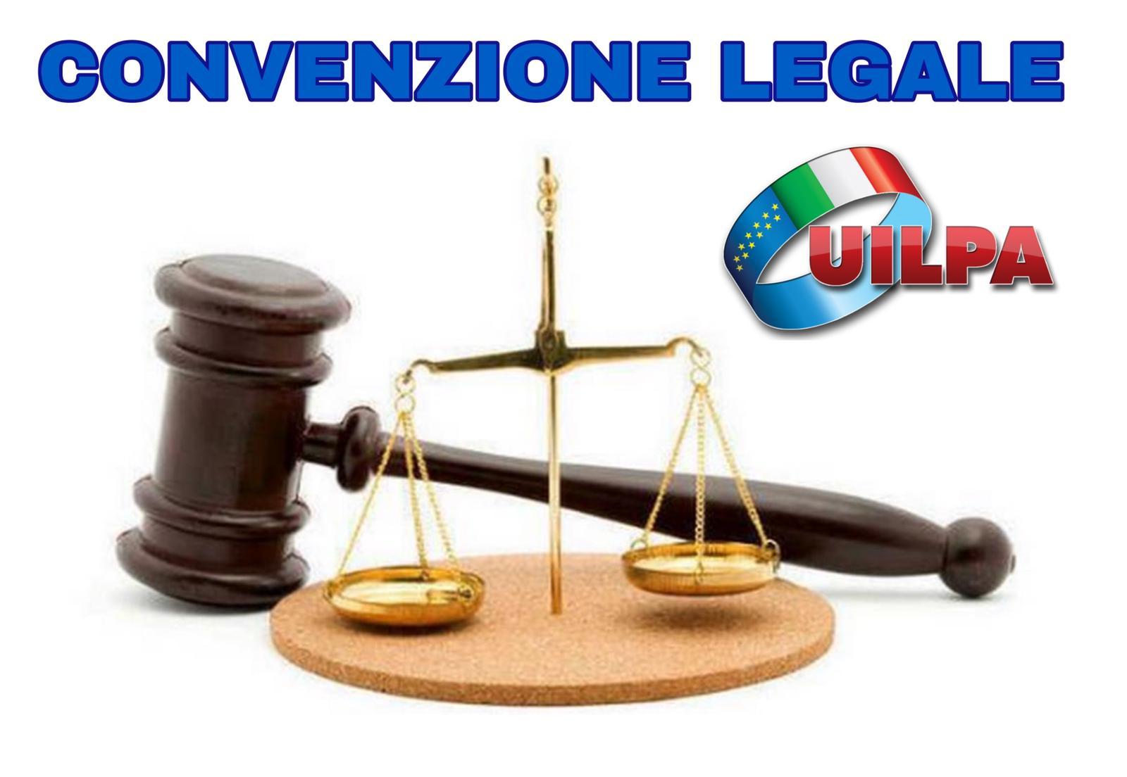 Convenzione legale UILPA