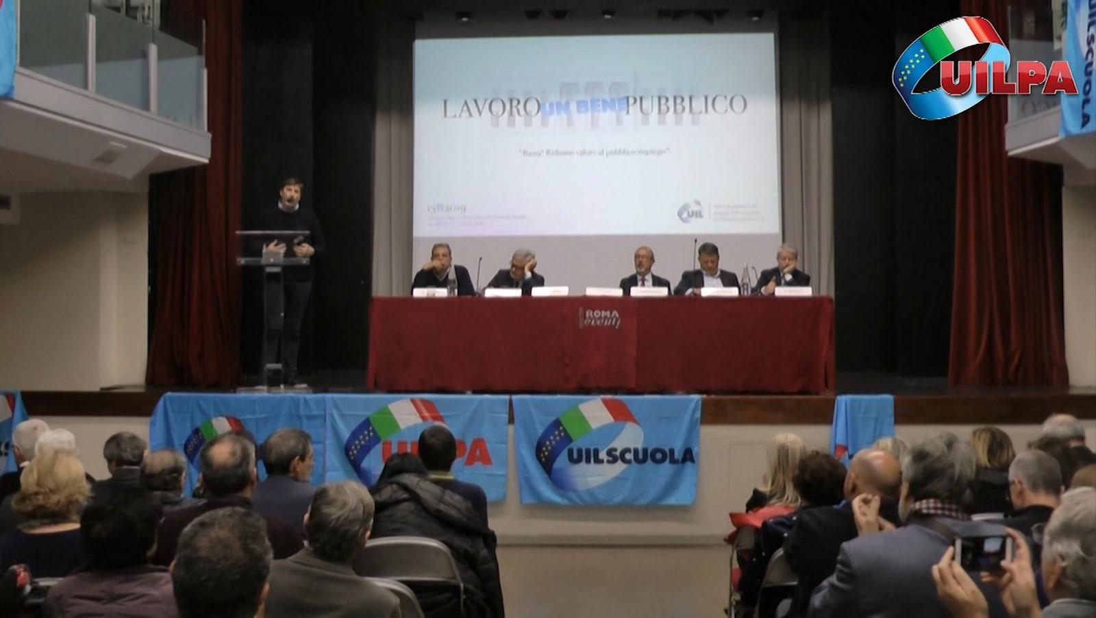 VIDEO   A Roma l'Attivo delle categorie UIL del Pubblico Impiego: il servizio UILPA
