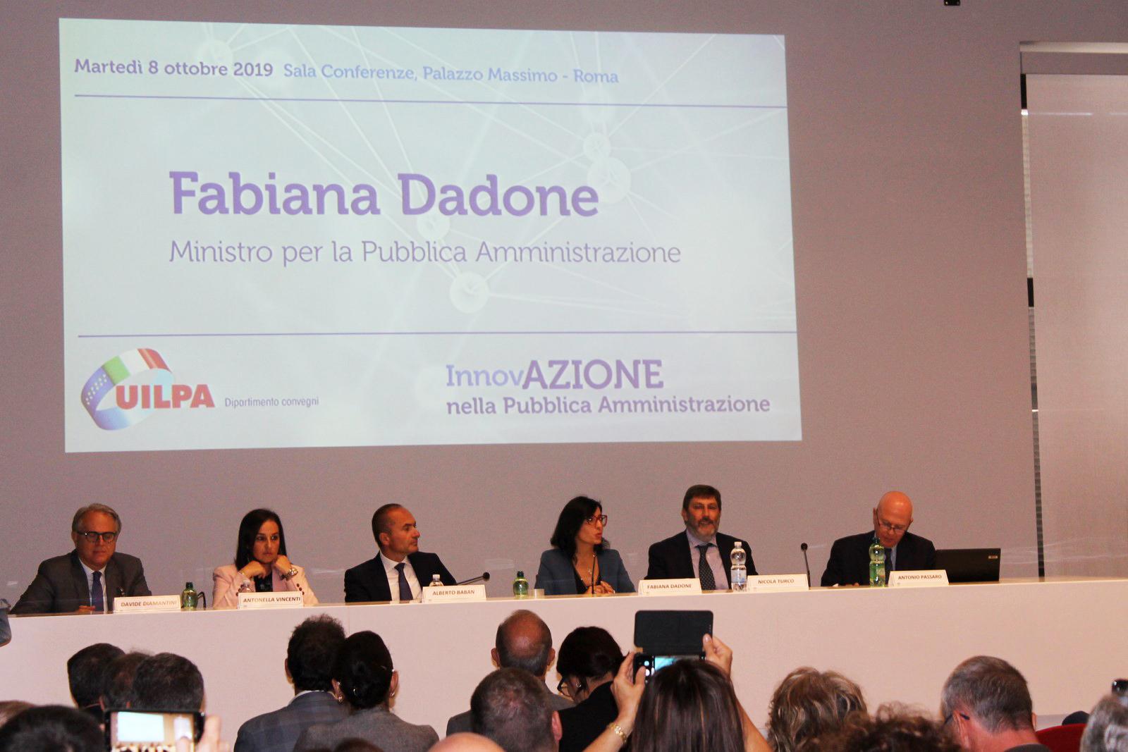 Convegno UILPA 'InnovAZIONE nella Pubblica Amministrazione', è stata una grande occasione di confronto