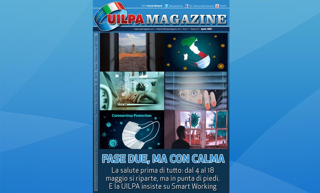 UILPA Magazine - Sfoglia la nuova edizione: 'Fase due, ma con calma'