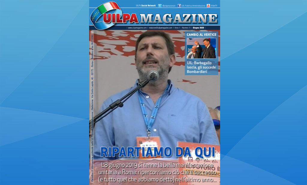 UILPA Magazine | 'Ripartiamo da qui': sfoglia l'edizione 2020 del nostro giornale