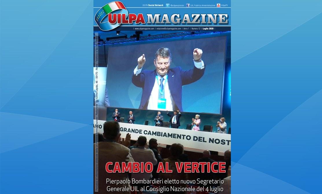 UILPA Magazine | 'Cambio al vertice': sfoglia l'edizione luglio 2020 del nostro giornale