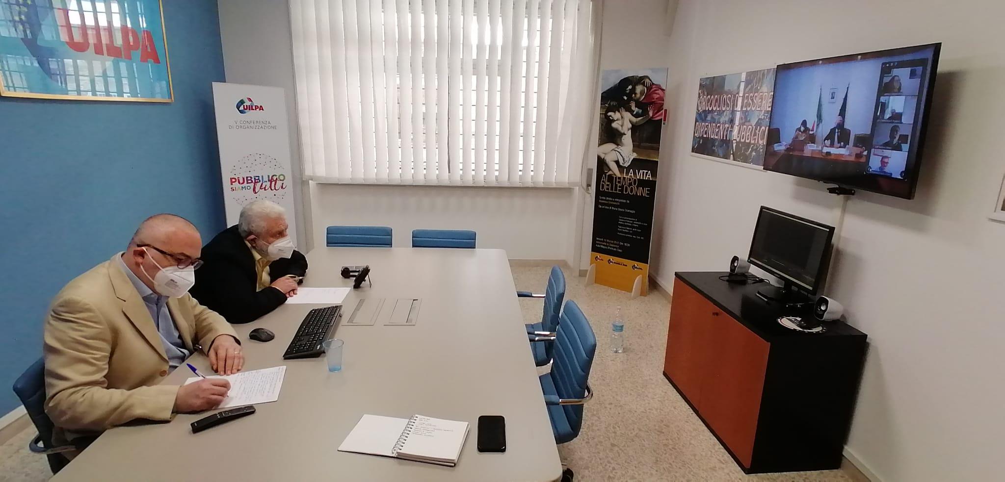 Prosecuzione del negoziato per il rinnovo del CCNL delle funzioni centrali – 13 maggio 2021