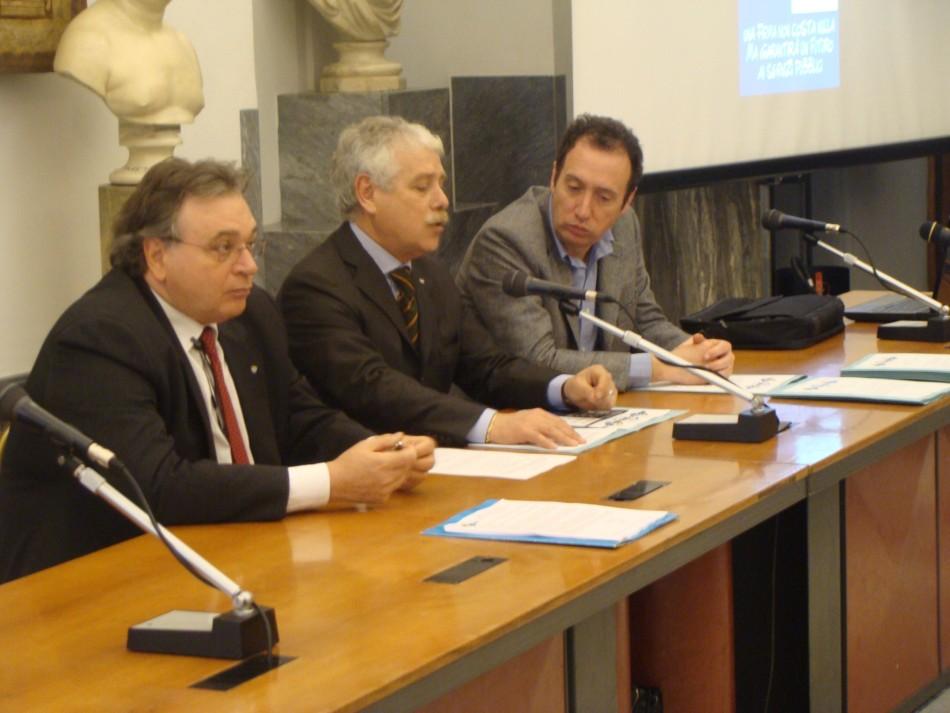 Sala Piccola Protomoteca : 21.02.2012 riformiamo la riforma la conferenza stampa
